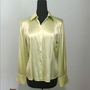 Talbots pure silk blouse